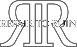 Repair To Ruin | Official Website Logo